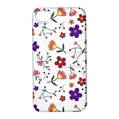 Flowers Pattern Texture Nature Apple Iphone 4/4s Hardshell Case With Stand