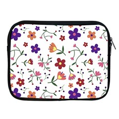 Flowers Pattern Texture Nature Apple Ipad 2/3/4 Zipper Cases