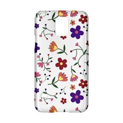 Flowers Pattern Texture Nature Samsung Galaxy S5 Hardshell Case