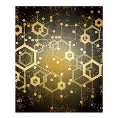 Block Chain Data Records System Shower Curtain 60  X 72  (medium)  by Simbadda