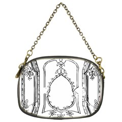 Leighton Floriated Antique Scroll Chain Purse (one Side)