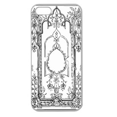 Leighton Floriated Antique Scroll Apple Seamless Iphone 5 Case (clear)