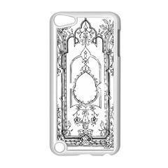 Leighton Floriated Antique Scroll Apple Ipod Touch 5 Case (white) by Simbadda