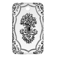 Floriated Antique Scroll Fruit Samsung Galaxy Tab 3 (7 ) P3200 Hardshell Case