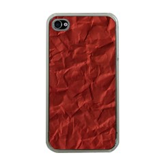 Crumpled Paper Apple Iphone 4 Case (clear)