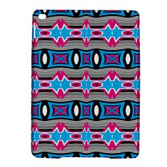 Blue Pink Shapes Rows Jpg                                                 Samsung Galaxy Note 4 Hardshell Case by LalyLauraFLM