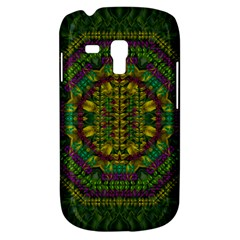 Butterfly Flower Jungle And Full Of Leaves Everywhere Samsung Galaxy S3 Mini I8190 Hardshell Case