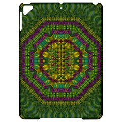 Butterfly Flower Jungle And Full Of Leaves Everywhere Apple Ipad Pro 9 7   Hardshell Case by pepitasart