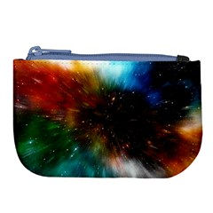 Universe Galaxy Sun Star Movement Large Coin Purse
