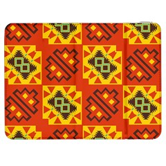 Squares And Other Shapes Pattern                                                 Htc One M7 Hardshell Case by LalyLauraFLM