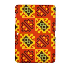 Squares And Other Shapes Pattern                                                 Samsung Galaxy Tab 2 (7 ) P3100 Hardshell Case