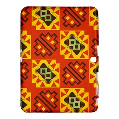 Squares And Other Shapes Pattern                                                 Samsung Galaxy Tab 4 (10 1 ) Hardshell Case by LalyLauraFLM
