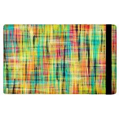 Yellow Blue Red Stripes                                                  Apple Ipad 2 Flip Case