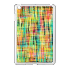 Yellow Blue Red Stripes                                                  Apple Ipad Mini Case (black) by LalyLauraFLM