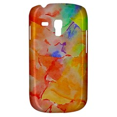 Orange Red Yellow Watercolors Texture                                                  Samsung Galaxy Ace Plus S7500 Hardshell Case