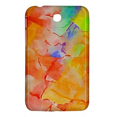 Orange Red Yellow Watercolors Texture                                                  Nokia Lumia 925 Hardshell Case by LalyLauraFLM