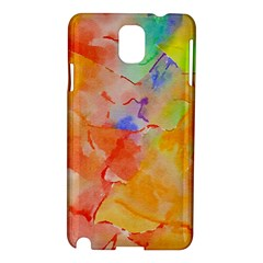 Orange Red Yellow Watercolors Texture                                                  Nokia Lumia 928 Hardshell Case by LalyLauraFLM