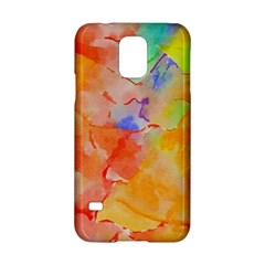 Orange Red Yellow Watercolors Texture                                                  Nokia Lumia 625 Hardshell Case by LalyLauraFLM