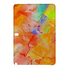 Orange Red Yellow Watercolors Texture                                                  Nokia Lumia 1520 Hardshell Case by LalyLauraFLM