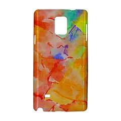 Orange Red Yellow Watercolors Texture                                                  Apple Iphone 6 Plus/6s Plus Leather Folio Case by LalyLauraFLM