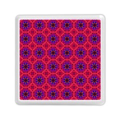 Retro Abstract Boho Unique Memory Card Reader (square)