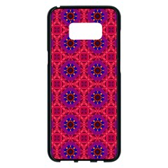Retro Abstract Boho Unique Samsung Galaxy S8 Plus Black Seamless Case