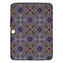 Vintage Abstract Unique Original Samsung Galaxy Tab 3 (10 1 ) P5200 Hardshell Case