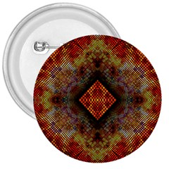 Autumn Kaleidoscope Art Pattern 3  Buttons by Simbadda