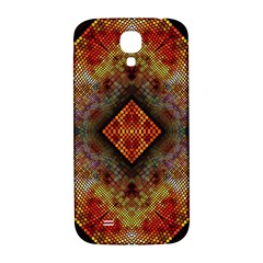 Autumn Kaleidoscope Art Pattern Samsung Galaxy S4 I9500/i9505  Hardshell Back Case