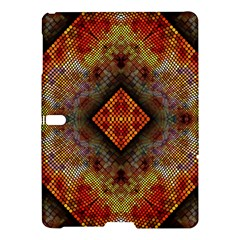 Autumn Kaleidoscope Art Pattern Samsung Galaxy Tab S (10 5 ) Hardshell Case