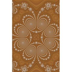 Fractal Pattern Decoration Abstract 5 5  X 8 5  Notebook by Simbadda