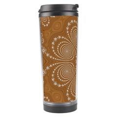 Fractal Pattern Decoration Abstract Travel Tumbler by Simbadda