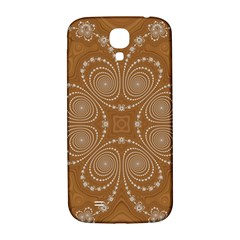 Fractal Pattern Decoration Abstract Samsung Galaxy S4 I9500/i9505  Hardshell Back Case