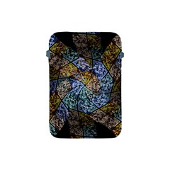 Multi Color Tile Twirl Octagon Apple Ipad Mini Protective Soft Cases by Simbadda