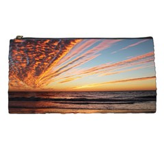 Sunset Beach Ocean Scenic Pencil Cases by Simbadda