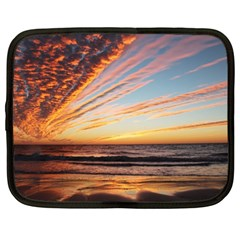 Sunset Beach Ocean Scenic Netbook Case (xl)