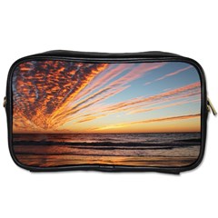 Sunset Beach Ocean Scenic Toiletries Bag (two Sides)