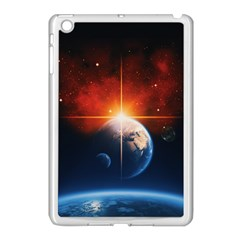 Earth Globe Planet Space Universe Apple Ipad Mini Case (white)