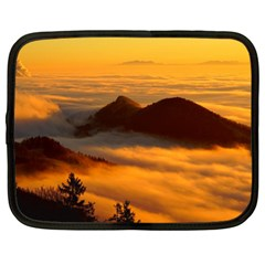 Fog Clouds Sea Of Fog Mountain Netbook Case (xl) by Celenk
