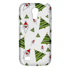 Christmas Santa Claus Decoration Samsung Galaxy S4 Mini (gt I9190) Hardshell Case  by Celenk
