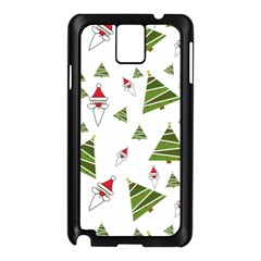 Christmas Santa Claus Decoration Samsung Galaxy Note 3 N9005 Case (black) by Celenk