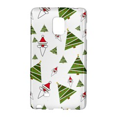 Christmas Santa Claus Decoration Samsung Galaxy Note Edge Hardshell Case by Celenk