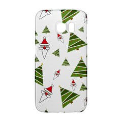 Christmas Santa Claus Decoration Samsung Galaxy S6 Edge Hardshell Case by Celenk