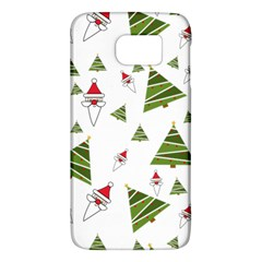 Christmas Santa Claus Decoration Samsung Galaxy S6 Hardshell Case  by Celenk