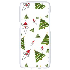 Christmas Santa Claus Decoration Samsung Galaxy S8 White Seamless Case by Celenk