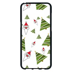 Christmas Santa Claus Decoration Samsung Galaxy S8 Plus Black Seamless Case by Celenk