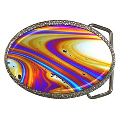 Soap Bubble Color Colorful Belt Buckles by Celenk