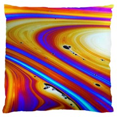 Soap Bubble Color Colorful Standard Flano Cushion Case (one Side) by Celenk