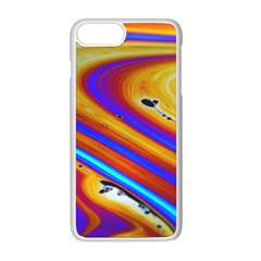 Soap Bubble Color Colorful Apple Iphone 8 Plus Seamless Case (white) by Celenk
