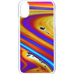 Soap Bubble Color Colorful Apple Iphone X Seamless Case (white)